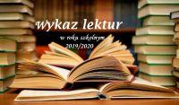 Czytaj więcej: Lista lektur rok szkolny 2019/2020